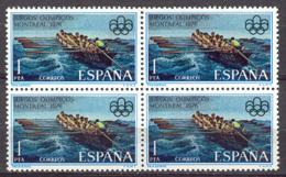 Spain 1976 - JJOO Montreal Ed 2340 Traineras Bl (**) - 1971-80 Unused Stamps