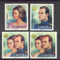 Spain 1975 - Reinado J. Carlos I Ed 2302-05 (**) - 1931-Hoy: 2ª República - ... Juan Carlos I
