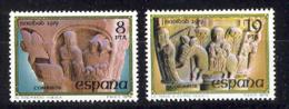 Spain 1979. Navidad Ed 2550-51 (**) - 1931-Hoy: 2ª República - ... Juan Carlos I