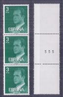 Spain. 1976 - Basica - Triptico Numerado Ed 2346A (**) - 1931-Hoy: 2ª República - ... Juan Carlos I