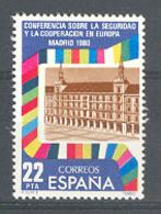 Spain. 1980. Cooperacion Europea Ed 2592 (**) - 1931-Hoy: 2ª República - ... Juan Carlos I