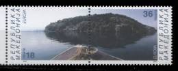 Macédoine **  225/226       Europa 2001  - - Macedonia