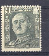 Spain 1949, Franco, 90 Cts Ed 1060 (**) - 1931-50 Nuevos & Fijasellos