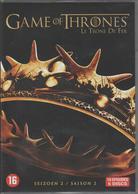 GAME OF THRONES - LE TRONE DE FER - SAISON 2 - DVD - TV-Reeksen En Programma's
