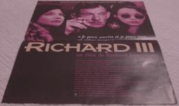 AFFICHE CINEMA ORIGINALE FILM RICHARD III LONCRAINE McKELLEN BENING SHAKESPEARE TBE 1995 - Posters