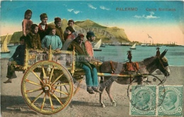 /!\ 8909 - CPA/CPSM - Italie : Carro Siciliano - Other Cities