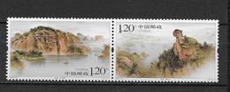 LOTE 1819  ///  (C070)  CHINA 2007 **MNH // Mountains And Lakes Jin Hu 2v - Nuevos