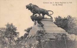 MOSELLE  57   SAINT PRIVAT  DENKMAL DES 3. GARDE - REGIMENT  GUERRE 1870 71  CACHET ALLEMAND - Frankreich