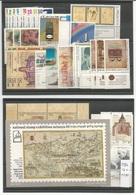 ISRAELE 1986 Annata Completa Dei 32 Commemorativi + 2 BF ASSOLUTA PRIMA SCELTA - Israele