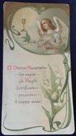 """Antico Santino Holy Card Dei Primi '900  """" PRIMA COMUNIONE """" - Religion & Esotérisme"""