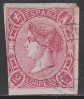 ISABEL II 1865. 2 CUARTOS USADO. 47 €. VER - 1850-68 Reino: Isabel II