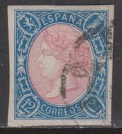 ISABEL II 1865. 12 CUARTOS USADO. 29 €. VER - 1850-68 Reino: Isabel II