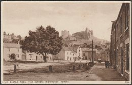 The Castle From The Green, Richmond, Yorkshire, C.1940 - Salmon Postcard - Other