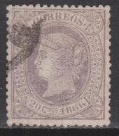 ISABEL II 1866. 20 Cs USADO. FIRMADO. 102 €. VER - 1850-68 Reino: Isabel II