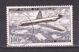 SAINT PIERRE ET MIQUELON YT PA 25 Oblitéré - St.Pierre & Miquelon