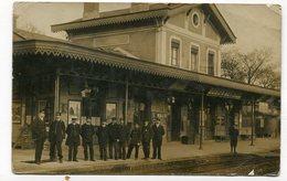 Carte Photo 94 : ST MAUR CRETEIL Intérieur Gare  VOIR  DESCRIPTIF §§§§§ - Saint Maur Des Fosses