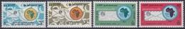 Ägypten Egypt 1971 Organisationen Postunion Fernmeldeunion Postal Union Kommunikation Tauben Dove UPAF, Mi. 1061-4 ** - Ägypten