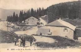 AIN  01  COL DE LA FAUCILLE - LES CHALETS RESTAURANTS - Other Municipalities