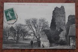 ENVIRONS DE SAINT HILAIRE (10) - LES RUINES DE FOUJON - LA TOUR ANCIENNE - France