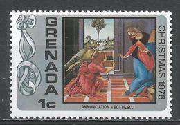 Grenada 1976. Scott #773 (MNH) Christmas, Annunciation, By Botticelli * - Grenade (1974-...)