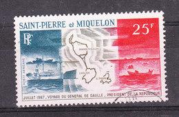 SAINT PIERRE ET MIQUELON YT PA 38 Oblitéré - St.Pierre & Miquelon