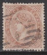 ISABEL II 1867. 2 Cs USADO. 64 €. VER - 1850-68 Reino: Isabel II