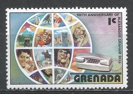 Grenada 1976. Scott #781 (MNH) Centenary Of First Telephone Conversation By Alexander Graham Bell * - Grenade (1974-...)
