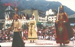 Andorra: STA - La Vella, Aniversari De La Gresca Gegantera - Andorra
