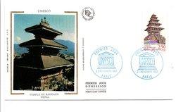 1991 FDC UNESCO - FDC