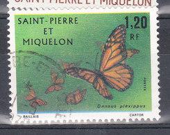 SAINT PIERRE ET MIQUELON YT 442 Oblitéré - St.Pierre & Miquelon