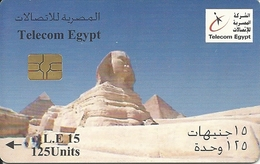 Egypt: Telecom Egypt - Sphinx, Gizeh - Aegypten