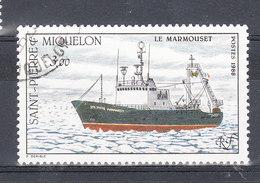 SAINT PIERRE ET MIQUELON YT 493 Oblitéré - St.Pierre & Miquelon