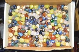 Lot De 1,5 Kg Pierres Roulées Lithothérapie Taille Entre 1 Et 3cm - Minerals