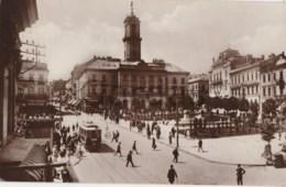 Ukraine - Czernowitz - Cernauti - Piata Unirei - Tram - Ukraine