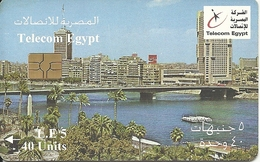 Egypt: Telecom Egypt - Cairo, Nile Bridge - Aegypten
