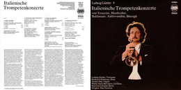 Superlimited Edition CD  Ludwig Guettler. ITALIENISCHE TROMPETENKONZERTE - Instrumental