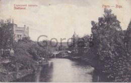 Latvia - Riga - Stadtkanal - Lettonie