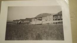 Ancienne Photo De Deux Avions : Un Cousinet 40 Et Un Arc-en-ciel , Format : 12 X 18 Cm - Aviation