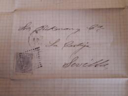 España Anitiguo Documento Circulado - 1872-73 Reino: Amadeo I