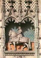 41 - Blois - Le Château - Façade Extérieure De L'aile Louis XII - Statue équestre Du Roi - Carte Neuve - Voir Scans Rect - Blois