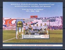 Armenia (2018) Calcio/football: Nacional Montevideo (Intercontinental Cup Winners) - S/s (MNH) - Clubs Mythiques