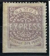 Samoa , N° 3 * ( 3ème Tirage ) - Samoa
