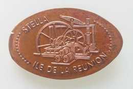 La Réunion - St Leu - Pièces écrasées (Elongated Coins)