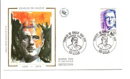 1990 FDC CHARLES DE GAULLE - FDC