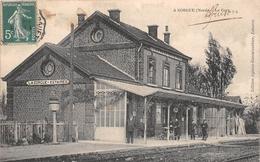 ¤¤   -   LA GORGES   -  ESTAIRES   -  La Gare   -   Chemin De Fer  -  ¤¤ - France