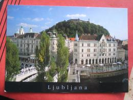 Ljubljana / Laibach - Tromostovje - Slovénie