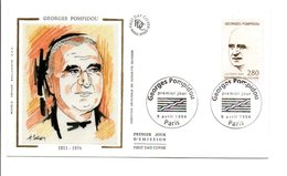 1994 FDC GEORGES POMPIDOU - FDC