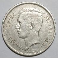 BELGIUM - 5 FRANCS 1931 - Légende Flamande - COUP/LISTEL SINON TTB - - 1909-1934: Albert I
