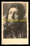 AUTOGRAPHE - FERNAND FANIARD (1894-1955) - TENOR WAGNERIEN DE L'OPERA DE PARIS - FORMAT 9 X 14 CM - Dédicacées