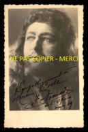 AUTOGRAPHE - FERNAND FANIARD (1894-1955) - TENOR WAGNERIEN DE L'OPERA DE PARIS - FORMAT 9 X 14 CM - Signed Photographs